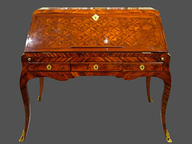 Le bureau de louis xv the bureau du roi french pronunciation byʁo