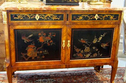 Le mobilier en laque de chine du xviiie si cle for Meubles du japon